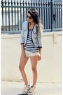 Navy-stripes-lands-end-vest-sky-blue-tweed-forever21-coat