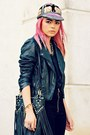 Black-pleather-pacsun-jacket-black-studs-romwe-bag-black-cotton-unif-vest