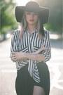 Black-stripes-romwe-blouse-black-sheer-sheinside-skirt