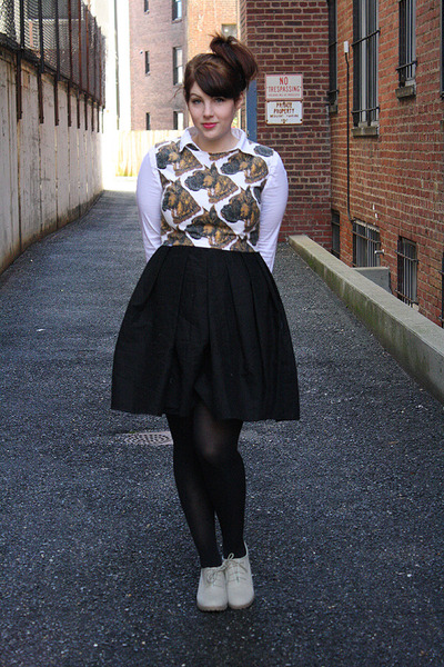 handmade Reasons to Celebrate Handmade dress - H&M shirt - Cooperative wedges