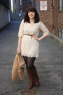 Boots-lace-dress-cheap-monday-cardigan