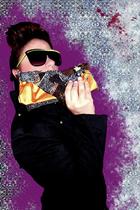 trn jacket - Spitfire sunglasses - kerolajn purse