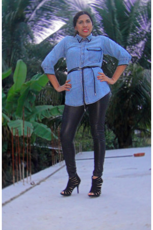 diy kezava shirt - triana boots - diir leggings
