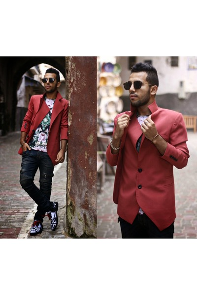 guylook jacket - THEFISTSHOP shoes - guylook jeans - THEFISTSHOP t-shirt
