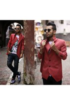 guylook jacket - THEFISTSHOP shoes - guylook jeans - THEFISTSHOP t-shirt