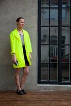 camel Topshop tights - black H&M skirt