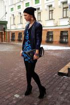 black Miu Miu boots - black Motel bodysuit