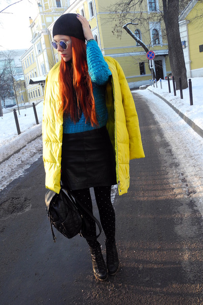 black Accessorize bag - black Vero Moda skirt