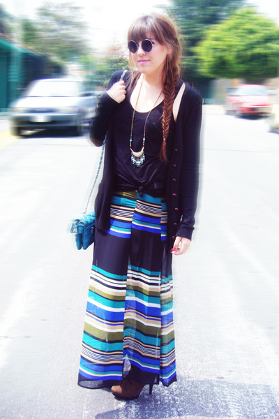 maxi skirt H&M skirt - Accessorize accessories - Bazar glasses