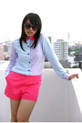 Hot-pink-kill-me-baby-shorts-periwinkle-kill-me-baby-top