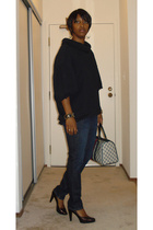 developement top - Earnest Sewn jeans - PROENZA SCHOULER shoes - Gucci purse