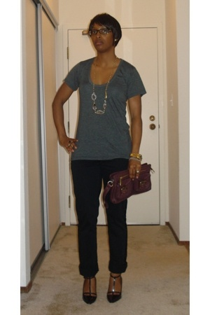 The Row t-shirt - converse one star pants - lanvin shoes - Marc Jacobs accessori