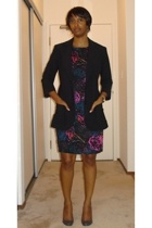 Victorias Secret blazer - H&M dress - Report Signature shoes