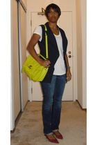 forever 21 vest - Splendid t-shirt - Rugby Ralph Lauren jeans - Nine West shoes