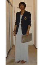 Ralph Lauren blazer - The Row dress - banana republic shoes - Club Monaco belt -