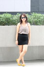 Charcoal-gray-forever-21-top-black-black-skirt-chill-skirt
