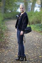 Alexander Wang boots - Zara bag