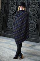 Zara boots - H&M hat - Zara scarf