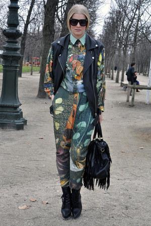 Dani Gomez Onya jumper - Aldo boots - Bershka bag