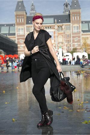 balenciaga bag - H&M jacket