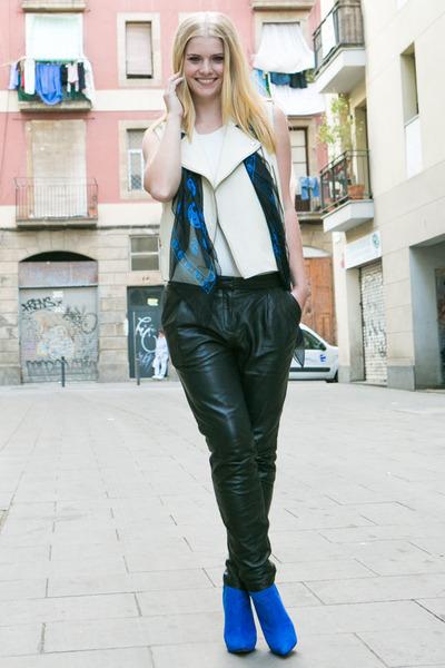 H&M jacket - Massimo Dutti jacket - River Island heels