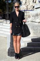 Zara boots - Givenchy bag - Zara skirt