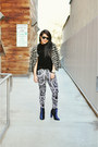 Navy-crushed-velvet-kimchi-blue-boots-off-white-baroque-h-m-leggings