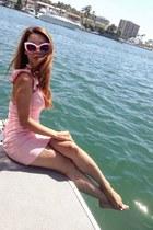 bubble gum Lulus dress