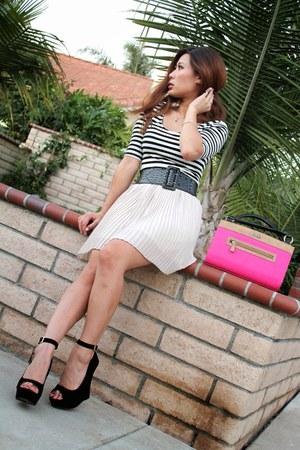 off white H&M skirt