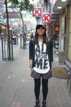 Zara top - Roxy shorts - nike shoes