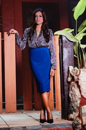 pencil skirt ava skirt - Olivia and Fifth blazer