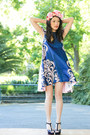 blue alice mccall dress