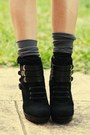 Black-clubcouture-dress-white-vintage-shirt-black-ninewest-boots-black-s