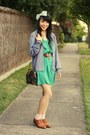 Brown-urban-outfitters-shoes-turquoise-blue-heritage-1981-dress-forest-green