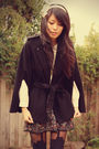 Forever-new-coat-jayjays-skirt-vintage-shirt-kani-accessories-henry-holl