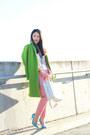 Chartreuse-topshop-coat