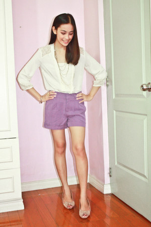 amethyst Forever 21 shorts