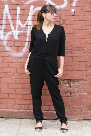 black just female romper