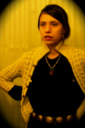 blouse - belt - sweater - necklace - earrings