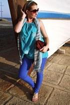 blue Tally Weijl panties - fullah sugah top