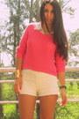 Gold-aztec-forever-21-bracelet-lace-estancias-chiripa-shorts