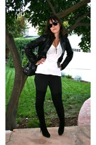 black Anna Sui for Target jacket - white American Apparel t-shirt - black Seven