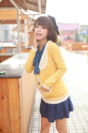 yellow cotton koees sweater