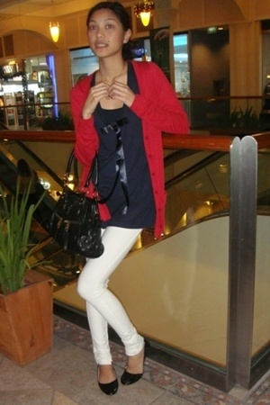 Topshop sweater - Topshop top - Topshop jeans - Primadonna shoes - purse