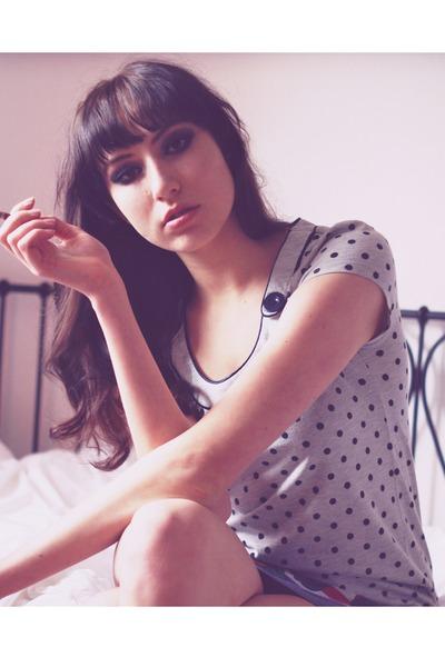 dotted H&M dress