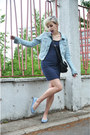 Navy-h-m-dress-light-blue-h-m-jacket-sky-blue-melissa-liberty-flats