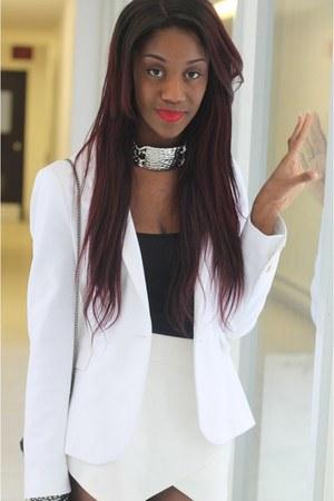 blazer Zara blazer - embellished H&M bag - pointed toe Zara heels