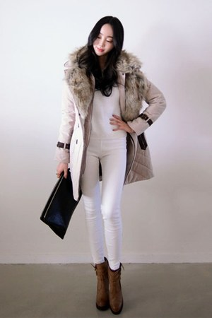 fur kpopsicle coat