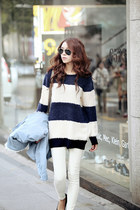 blue kpopsicle sweater