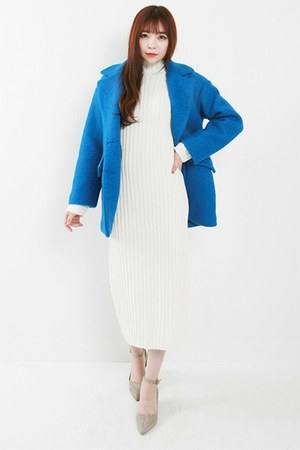 wool kpopsicle coat